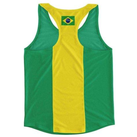 Brazil Flag Running Vest