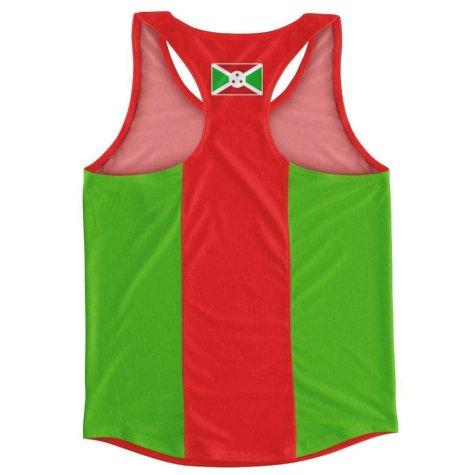 Burundi Flag Running Vest