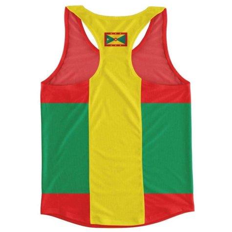 Grenada Flag Running Vest