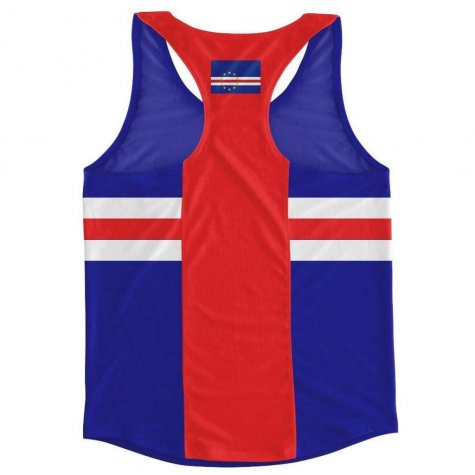 Cape Verde Flag Running Vest