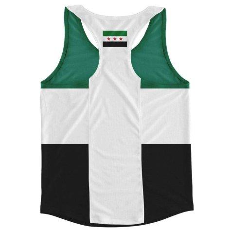 Syria Flag Running Vest