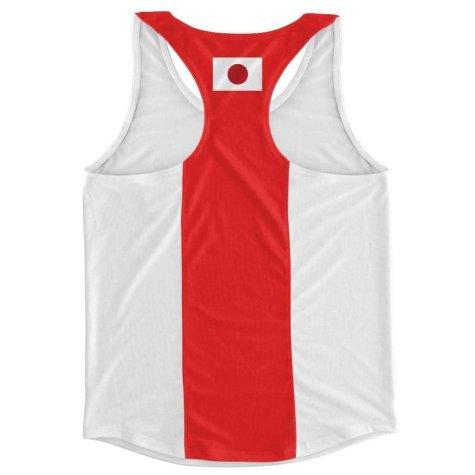 Japan Flag Running Vest