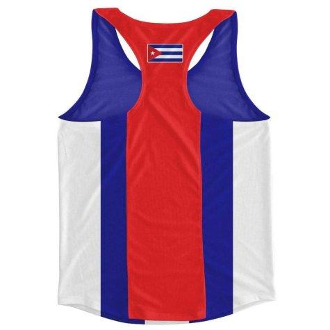 Cuba Flag Running Vest