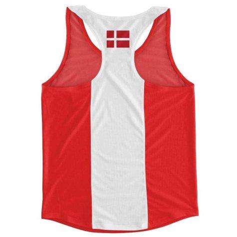 Denmark Flag Running Vest