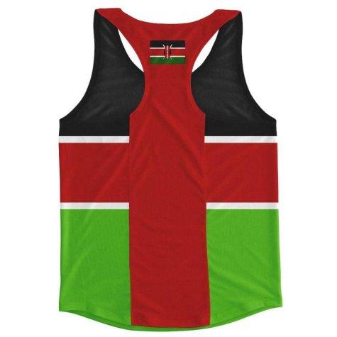 Kenya Flag Running Vest