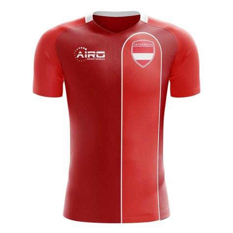 2019-2020 Austria Home Concept Football Shirt (ALABA 8)