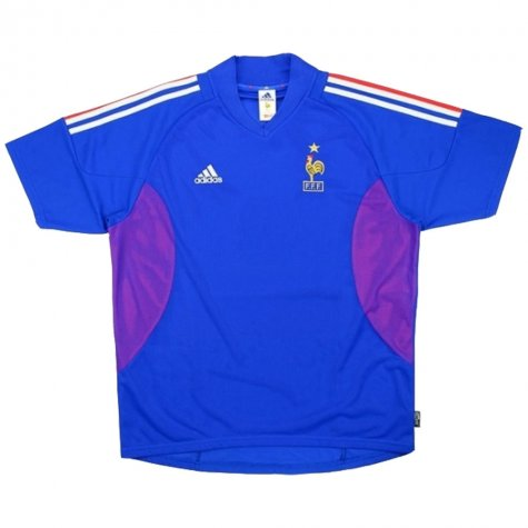 2002-2004 France Adidas Home Shirt (HENRY 12) (Excellent)