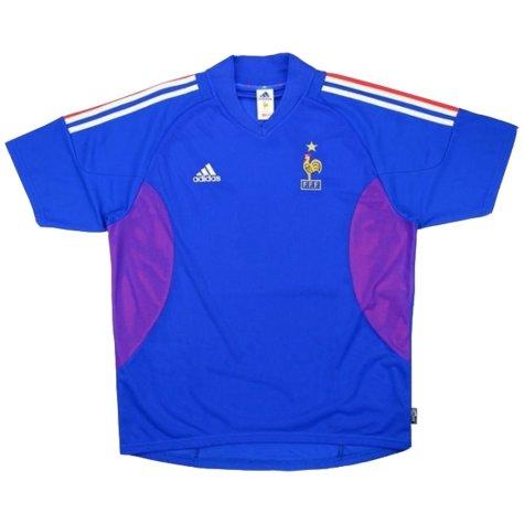 2002-2004 France Adidas Home Shirt (ANELKA 9) (Excellent)