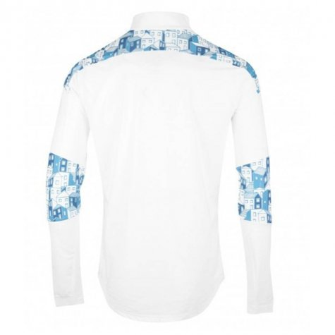2020-2021 Marseille Quarter Zip Training Top (White)