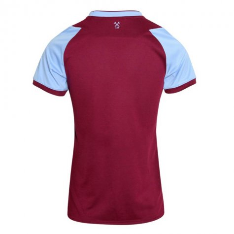 2020-2021 West Ham Home Football Shirt (Womens)