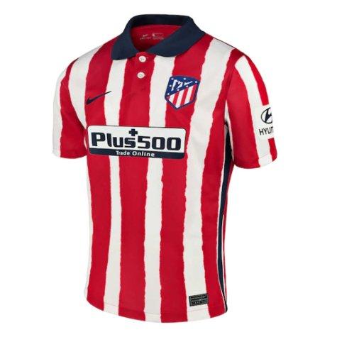 2020-2021 Atletico Madrid Home Nike Shirt (Kids) (DAVID VILLA 9)