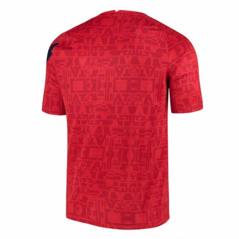2020-2021 Atletico Madrid Pre-Match Training Shirt (Red) - Kids