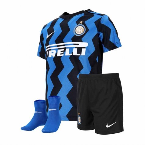 2020-2021 Inter Milan Home Nike Infants Kit (DE VRIJ 6)