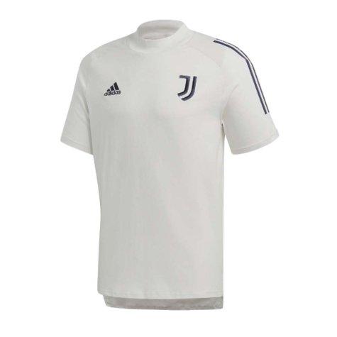 2020-2021 Juventus Adidas Training Tee (Grey) - Kids (VIALLI 9)