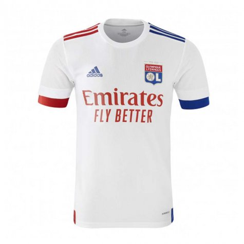 2020-2021 Olympique Lyon Adidas Home Football Shirt (Kids) (GOVOU 14)