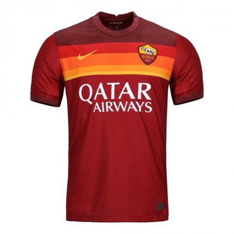 2020-2021 AS Roma Home Nike Football Shirt (MKHITARYAN 77)