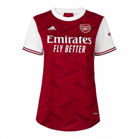 2020-2021 Arsenal Adidas Womens Home Shirt (S.CAZORLA 19)