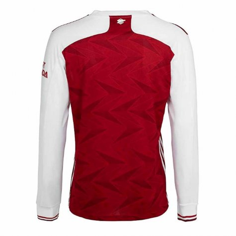 2020-2021 Arsenal Adidas Home Long Sleeve Shirt (LJUNGBERG 8)