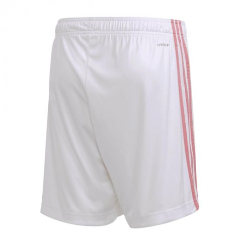 2020-2021 Real Madrid Adidas Home Shorts (White)