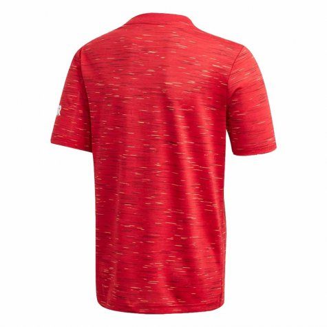 2020-2021 Man Utd Adidas Home Football Shirt (Kids) (BUTT 8)