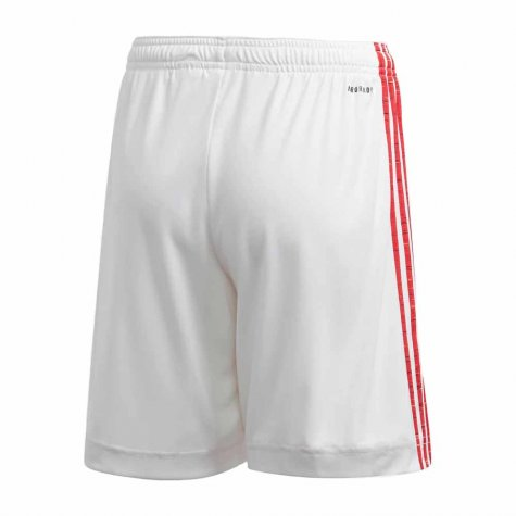 2020-2021 Man Utd Adidas Home Shorts (White)
