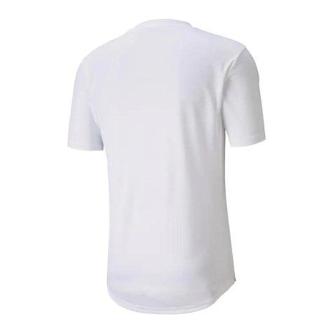 2020-2021 Manchester City Puma Stadium Jersey (White) - Kids (KOMPANY 4)