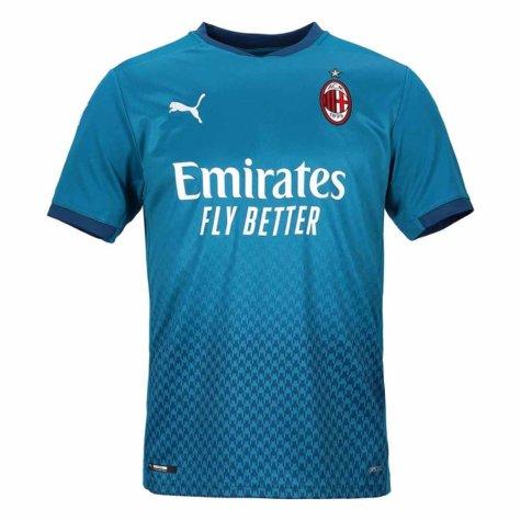 2020-2021 AC Milan Puma Third Shirt (Kids) (BARESI 6)