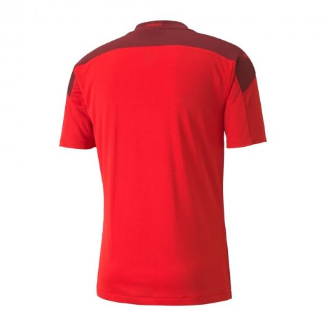 2020-2021 Switzerland Home Puma Football Shirt