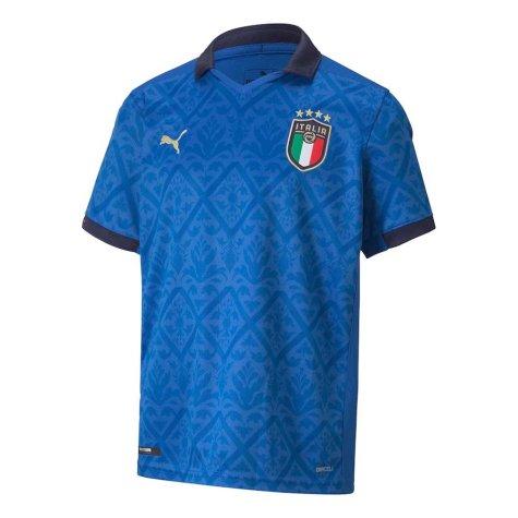 2020-2021 Italy Home Puma Football Shirt (Kids) (PIRLO 21)