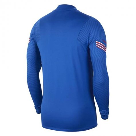2020-2021 England Nike Training Drill Top (Blue)