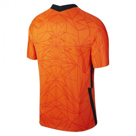 2020-2021 Holland Home Nike Football Shirt (Kids) (DE JONG 19)