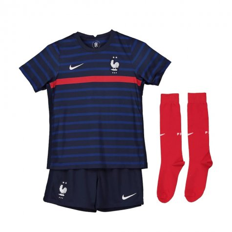 2020-2021 France Home Nike Mini Kit (EVRA 3)