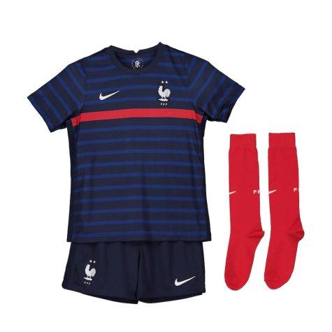 2020-2021 France Home Nike Mini Kit (VIEIRA 4)