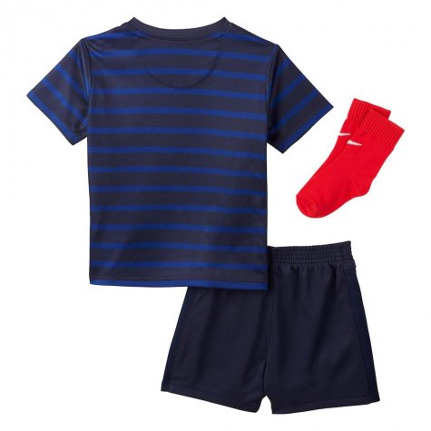 2020-2021 France Home Nike Baby Kit (DESCHAMPS 4)
