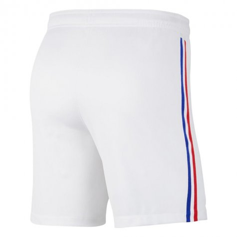 2020-2021 France Nike Away Shorts (White)