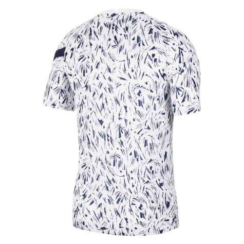 2020-2021 France Nike Dry Pre-Match Training Shirt (White) (VIEIRA 4)