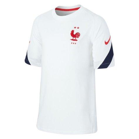 2020-2021 France Nike Training Shirt (White) (LIZARAZU 3)