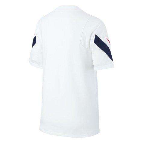 2020-2021 France Nike Training Shirt (White) - Kids