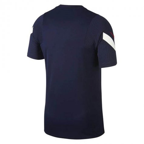 2020-2021 France Nike Training Shirt (Navy)
