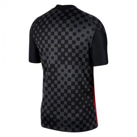 2020-2021 Croatia Away Nike Football Shirt (MANDZUKIC 17)