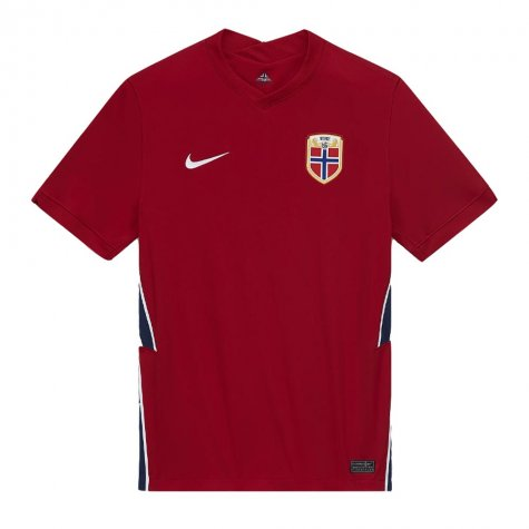2020-2021 Norway Home Nike Football Shirt (Kids) (SOLSKJAER 10)
