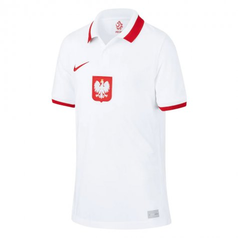 2020-2021 Poland Home Nike Football Shirt (Kids) (PISZCZEK 20)