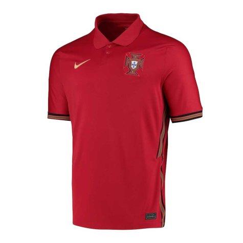 2020-2021 Portugal Home Nike Football Shirt (J Moutinho 8)