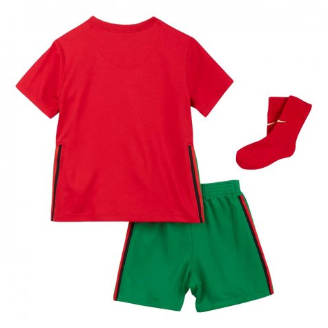 2020-2021 Portugal Home Nike Baby Kit (J Moutinho 8)