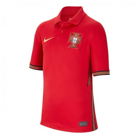 2020-2021 Portugal Home Nike Shirt (Kids) (GUERREIRO 5)