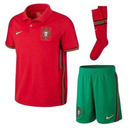2020-2021 Portugal Home Nike Mini Kit (Bernardo 10)