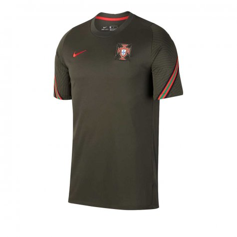 2020-2021 Portugal Nike Training Shirt (Khaki) - Kids (Bernardo 10)