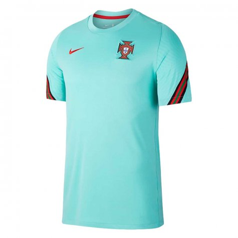 2020-2021 Portugal Nike Training Shirt (Mint) - Kids (J Moutinho 8)