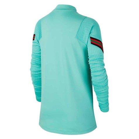 2020-2021 Portugal Nike Training Drill Top (Mint) - Kids