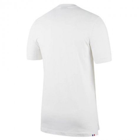 2020-2021 France Nike Authentic Polo Shirt (White)
